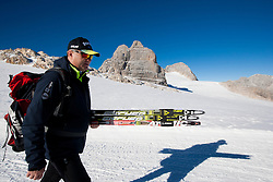 Marko Gracer during Training camp of Slovenian Cross country Ski team on October 23, 2012 in Dachstein Getscher, Austria. (Photo By Vid Ponikvar / Sportida)
