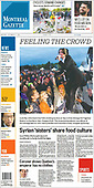 October 04, 2021 - CANADA: Front-page: Today's Newspapers In Canada