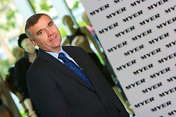 Myer CEO, Bernie Brookes