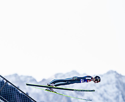 31.12.2013, Olympiaschanze, Garmisch Partenkirchen, GER, FIS Ski Sprung Weltcup, 62. Vierschanzentournee, Qualifikation, im Bild Gregor Deschwanden (SUI) // Gregor Deschwanden (SUI) during qualification Jump of 62nd Four Hills Tournament of FIS Ski Jumping World Cup at the Olympiaschanze, Garmisch Partenkirchen, Germany on 2013/12/31. EXPA Pictures © 2014, PhotoCredit: EXPA/ JFK