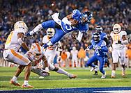 Stephen Johnson.<br /> <br /> The University of Kentucky football team beat Tennessee 29-26 on Saturday, October 28, 2017, at Kroger Field in Lexington, Ky.<br /> <br /> <br /> Photo by Elliott Hess   UK Athletics