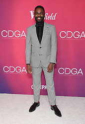 February 19, 2019 - Beverly Hills, California, U.S. - Baron Vaughn arrives for the 21st CDGA (Costume Designers Guild Awards) at the Beverly Hilton Hotel. (Credit Image: © Lisa O'Connor/ZUMA Wire)