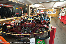 Doug Frederick's American Police Motorcycle Museum in Meredith, NH during Laconia Motorcycle Week. June 15, 2015.  Photography ©2015 Michael Lichter.