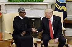 President Donald Trump hosts Nigerian President Muhammadu Buhari at the White House  - 30 Apr 2018