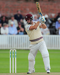 Jim Allenby of Somerset in action.  - Mandatory by-line: Alex Davidson/JMP - 05/08/2016 - CRICKET - The Cooper Associates County Ground - Taunton, United Kingdom - Somerset v Durham - County Championship - Day 2
