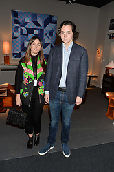 TANIA FARES and her son GEORGE FARES at the PAD London 10th Anniversary Collector's Preview, Berkeley Square, London on 3rd October 2016.