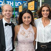 NLD/Amsterdam/20180616 - 26ste AmsterdamDiner 2018, Marvy Rieder en Janine Kho en ...........