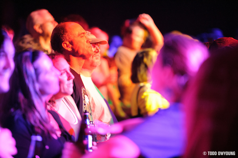 Fans at the Widespread Panic concert at the Peabody Opera House on October 12, 2011.