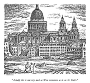 """""""Actually this is very much as Wren INTENDED us to see St. Paul's."""""""