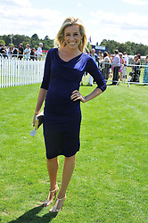 LARA LEWINGTON at the 27th annual Cartier International Polo Day featuring the 100th Coronation Cup between England and Brazil held at Guards Polo Club, Windsor Great Park, Berkshire on 24th July 2011.