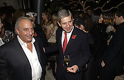 Philip Green and Stuart Rose. The Vogue Winter party to celebrate the Vogue List. Nobu Berkeley. London.   8 November 2005 . ONE TIME USE ONLY - DO NOT ARCHIVE © Copyright Photograph by Dafydd Jones 66 Stockwell Park Rd. London SW9 0DA Tel 020 7733 0108 www.dafjones.com