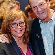 NLD/Utrecht/20180927 - Openingsavond Nederlands Film Festival Utrecht, Maria Goos en partner Peter Blok