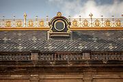 Das Dach des Prager Nationaltheaters.