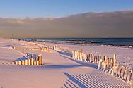 Snow, Sagg Main Beach, Sagaponack, NY