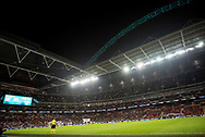 general shot of the stadium  during the Friendly match between England and Germany at Wembley Stadium, London, England on 10 November 2017. Photo by Sebastian Frej.