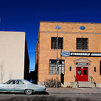 122414       Cable Hoover<br /> <br /> The Stronghold Church in downtown Gallup is adjacent to City Hall and will soon be the home of the Northwest New Mexico Council of Governments.