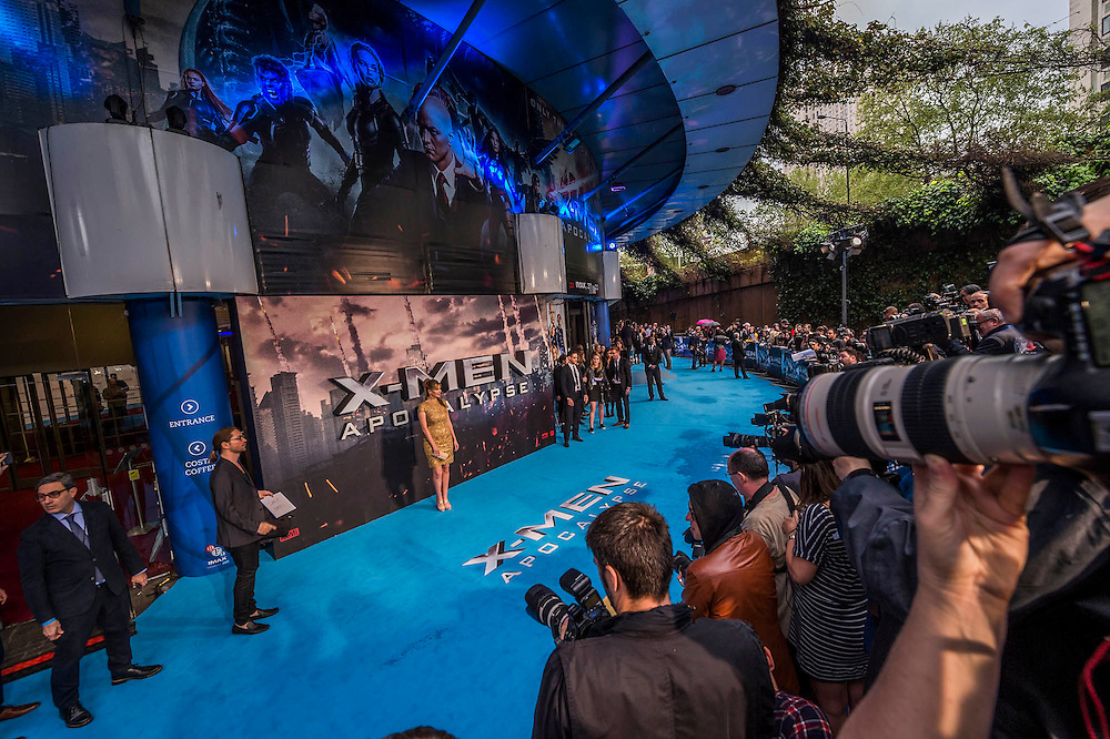 Carly Steel - The 'global fan screening' of Twentieth Century Fox's X-Men Apocalypse at the BFI IMAX at Waterloo.