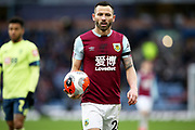 Burnley defender Phillip Bardsley (26) during the Premier League match between Burnley and Bournemouth at Turf Moor, Burnley, England on 22 February 2020.