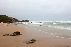 Waves on the beach, Brenton-On-Sea, Knysna, South Africa