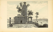 Temple At Muddunpore, Bahar From the book ' The Oriental annual, or, Scenes in India ' by the Rev. Hobart Caunter Published by Edward Bull, London 1835 engravings from drawings by William Daniell