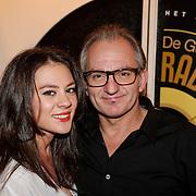 NLD/Hilversum/20121115 - Uitreiking Radioring 2012, Jeroen van Inkel en dochter