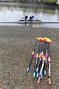 London, Great Britain, GV's Tideway Scullers School Boat House [Mandatory Credit. Peter Spurrier/Intersport Images] Equipment,