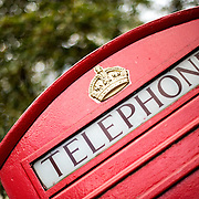 The red telephone box has become an icon symbol of Great Britain. Despite the decline in demand for public pay phones, many of the boxes can still be seen around the United Kingdom.