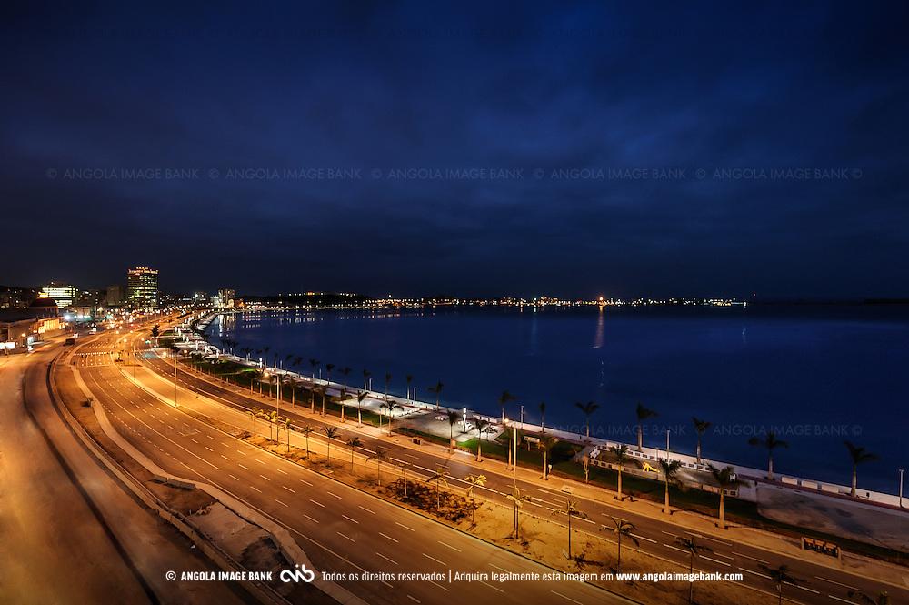 [PT] A Nova Marginal de Luanda, Avenida 4 de Fevereiro | [EN] The New Luanda Waterfront, 4th of February Avenue, Angola.
