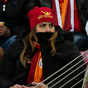 Galatasaray's supporters during their Turkish Super League soccer match Galatasaray between Istanbul Basaksehir at the AliSamiYen Spor Kompleksi TT Arena at Seyrantepe in Istanbul Turkey on Saturday, 14 March 2015. Photo by Aykut AKICI/TURKPIX