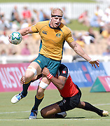 Shawn Mackay,Australia during the IRB Rugby Sevens tournament held at Adelaide Oval,Adelaide, South Australia,Saturday, April 5, 2008.<br /> Photo;Michael Oakes/SMP<br /> Conditions of Use: This image is intended for editorial use only (EG: news or commentary, print or electronic).  Any commercial or promotional use requires additional clearance.  Please contact for details.