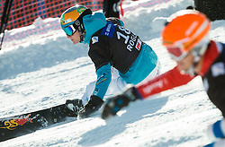 Tim Mastnak of Slovenia competes in Qualification Run during Parallel Giant Slalom at FIS Snowboard World Cup Rogla 2015, on January 31, 2015 in Course Jasa, Rogla, Slovenia. Photo by Vid Ponikvar / Sportida