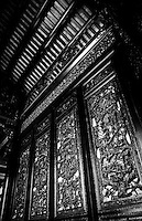 Intricately carved Chaozhou doors are a feature of the Chen Family Ancestral Temple in Guangzhou.