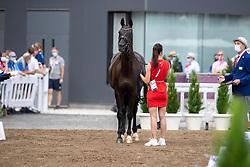 Krüth Carina Cassöe, DEN, Heiline s Danciera, 120<br /> Olympic Games Tokyo 2021<br /> © Hippo Foto - Dirk Caremans<br /> 23/07/2021