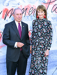 Michael Bloomberg and Diana Taylor attending the Serpentine Summer Party 2018 held at the Serpentine Galleries Pavilion, Kensington Gardens, London.