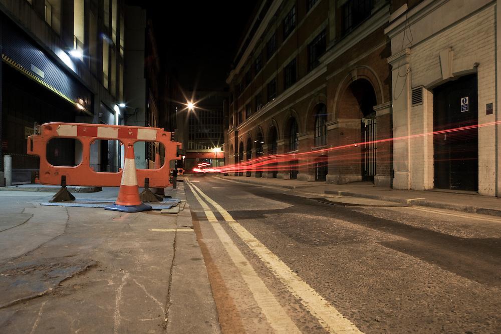 Urban Landscape at Night