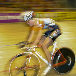 ALKMAAR (NED) wielrennen<br /> NK Baanwielrennen ; vrouwen; ; scratch; Adrie Visser