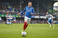 Portsmouth Midfielder, Ronan Curtis (11) during the EFL Sky Bet League 1 match between Portsmouth and Rochdale at Fratton Park, Portsmouth, England on 13 April 2019.
