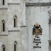 Exterior of Royal Court of Justice building