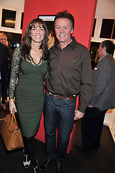 PAUL & STACEY YOUNG at a Private View of Bruno Bisang 30 Years of Polaroids held at The Little Black Gallery, 13A Park Walk, London SW10 on 15th January 2013.