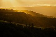 Sunset over Jamberoo near Kiama, NSW, Australia