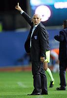 """L'allenatore dell'Empoli Luigi Cagni<br /> Empoli Trainer Luigi Cagni<br /> Italian """"Serie A"""" 2006-07<br /> 25 Oct 2006 (Match Day 8)<br /> Empoli-Udinese (1-1)<br /> """"Castellani"""" Stadium-Empoli-Italy<br /> Photographer Luca Pagliaricci INSIDE"""
