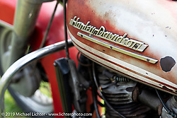Harley-Davidson Panhead at the Antique Motorcycle Club of America (AMCA) Sunshine Chapter meet in New Smyrna Beach during Daytona Bike Week, FL. USA. Saturday, March 9, 2019. Photography ©2019 Michael Lichter.