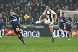 December 7, 2018 - Milan, Piedmont, Italy - Leonardo Bonucci (Juventus FC) during the Serie A football match between Juventus FC and FC Internazionale at Allianz Stadium on December 07, 2018 in Turin, Italy..Juventus won 1-0 over Internazionale. (Credit Image: © Massimiliano Ferraro/NurPhoto via ZUMA Press)
