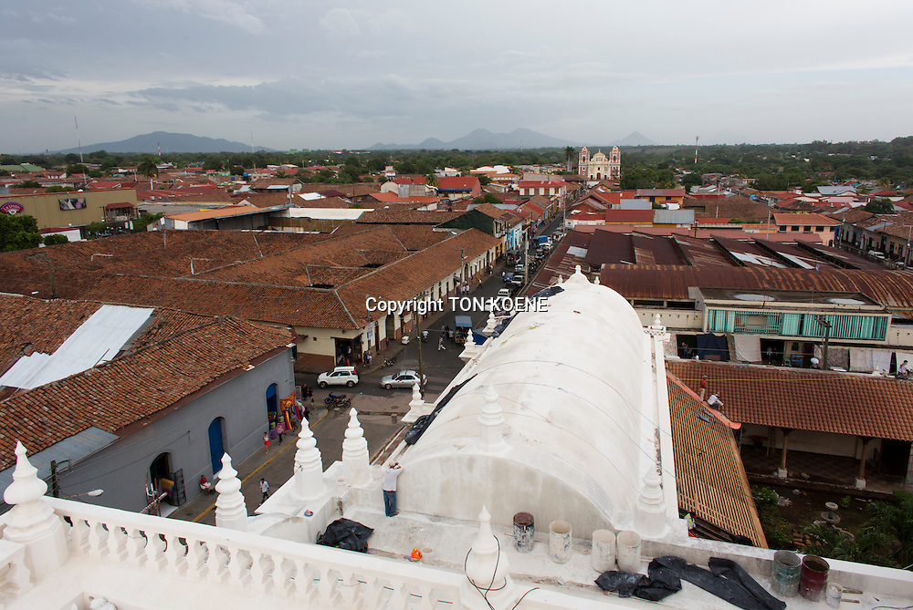 Leon's cathedral, nicaragua