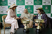 Moscow, Russia, 20/09/2003..The opening day of the Moscow Polo Club, featuring the Russian Polo Cup 2003, the first event of its kind in Russia since the 1917 Bolshevik revolution..