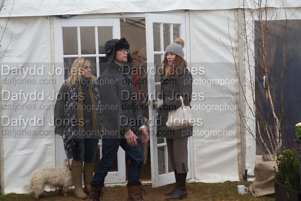 FRANCIE CLARKSON; REBEKAH BROOKS;   Heythrop Point to Point. At a  new course at Cocklebarrow near Aldsworth. 11 January 2014