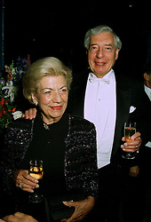 SIR JAMES & LADY DUNCAN at a party in London on 14th July 1997.  MAF 20