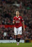 Photo: Paul Thomas.<br /> Manchester United v Aston Villa. The FA Cup. 07/01/2007.<br /> <br /> Henrik Larsson of Man Utd