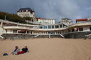 Plage de Port Vieux, Biarritz, Basque Country, France