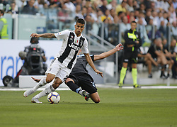 August 25, 2018 - Turin, Italy - Joo Cancelo during Serie A match between Juventus v Lazio, in Turin, on August 25, 2018  (Credit Image: © Loris Roselli/NurPhoto via ZUMA Press)
